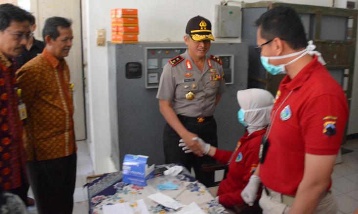 Kapolda Jateng Monitoring Tes Narkoba Dan Berikan Kuliah Umum