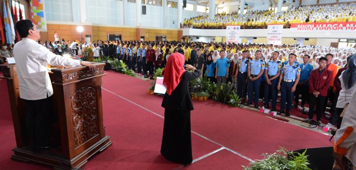 Kepala BNPT Berikan Kuliah Umum untuk Mahasiswa PTN dan PTS Di Jawa Tengah