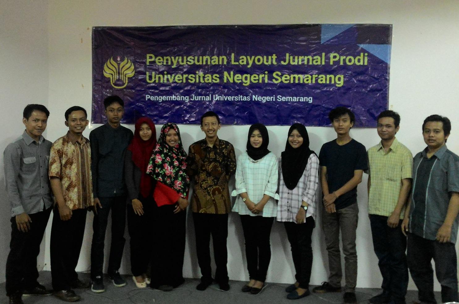 Tingkatkan Publikasi, UNNES Selenggarakan Pelatihan <em>Layout </em>bagi Mahasiswa Pengelola Jurnal