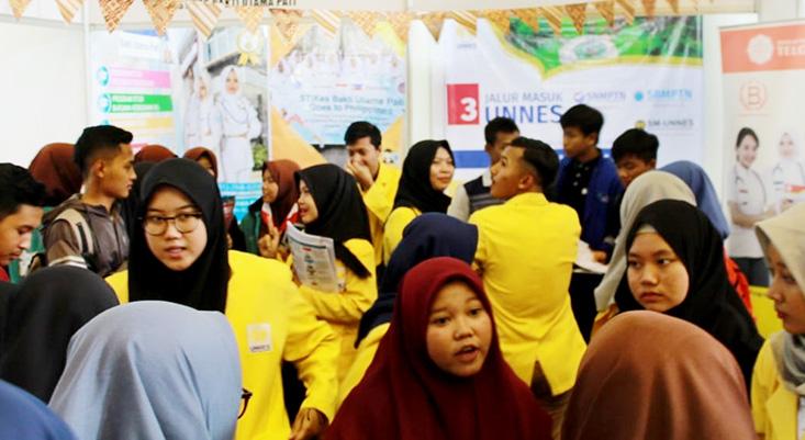 University Expo Jepara, 800 Lebih Siswa Kunjungi Stand UNNES