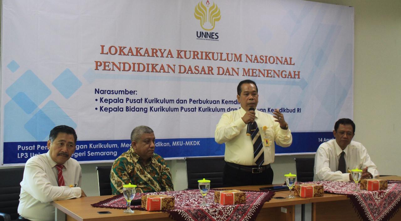 Buka Lokakarya, Rektor: UNNES sebagai Center of Education Excellent