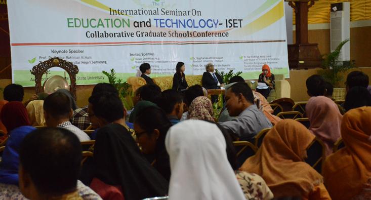 Sambut Dies, Pascasarjana Selenggarakan Seminar Internasional Dengan 7 Universitas
