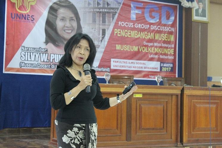 FIS UNNES Selenggarakan FGD Pengembangan Museum Bersama Silvy W. Puntowati