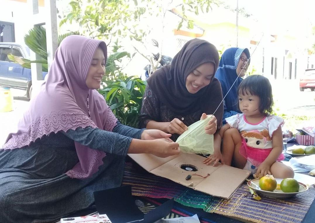 Pemberdayaan Ibu Tangguh untuk Mencegah DBD dengan Modifikasi Suna Traps
